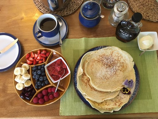 Park View B & B: Marion's Pancakes