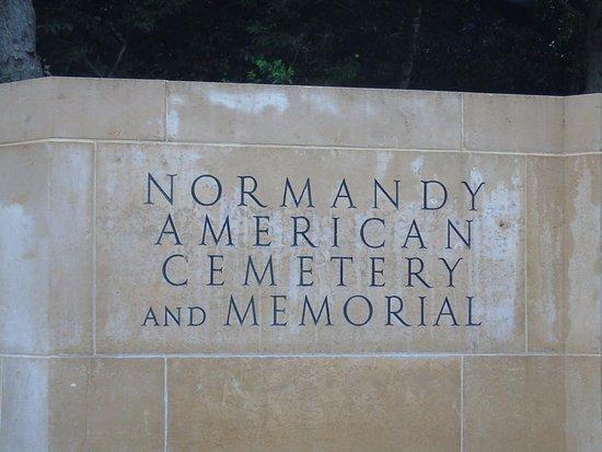 D-Day Beaches (Plages du Debarquement de la Bataille de Normandie): cimetière américain