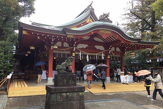 Koshigaya, Japon : 久伊豆神社拝殿