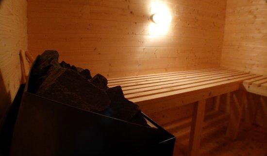 Seez, France: Sauna