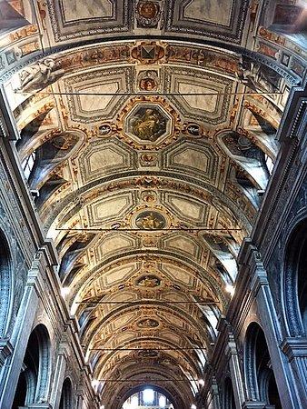 Chiesa di Santa Maria della Passione: Milano, chiesa di s. Maria della Passione: volta della navata centrale