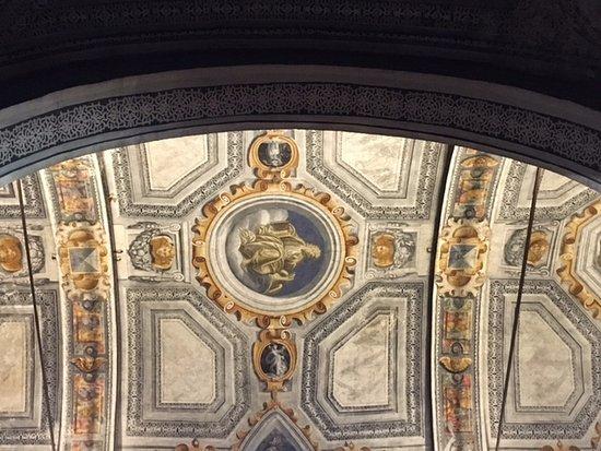 Chiesa di Santa Maria della Passione: Milano, chiesa di s. Maria della Passione:volta della navata centrale - particolare