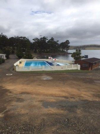 Orford, Australia: Pool at resort