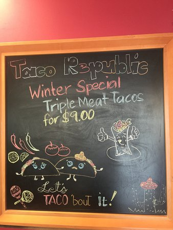 Sechelt, Canadá: Taco Republic