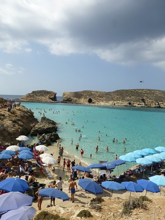Bugibba, Malta: Blue Lagoon (main beach)