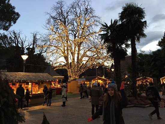 Merano (Meran), Italien: Weihnachtsmarkt Meran im Januar 2017