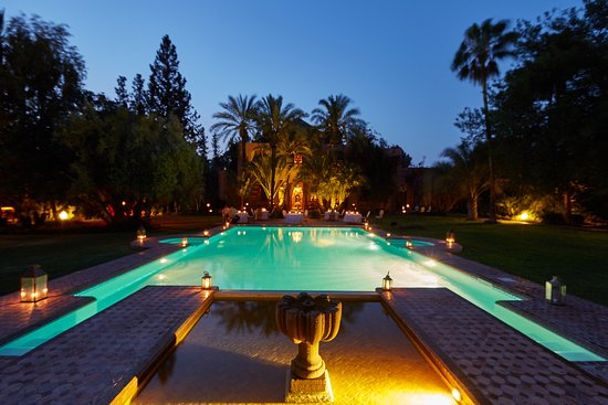 Dar Ayniwen Garden Hotel & Bird Zoo : Main Heated Pool