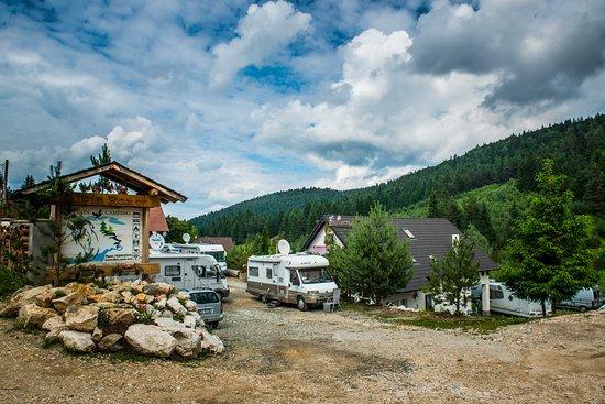Entrance - Picture of Alpin Ranch, Zarnesti - Tripadvisor