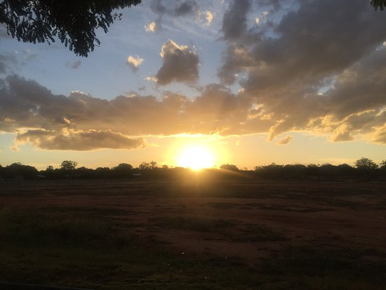Charters Towers, Australia: Sunset from park