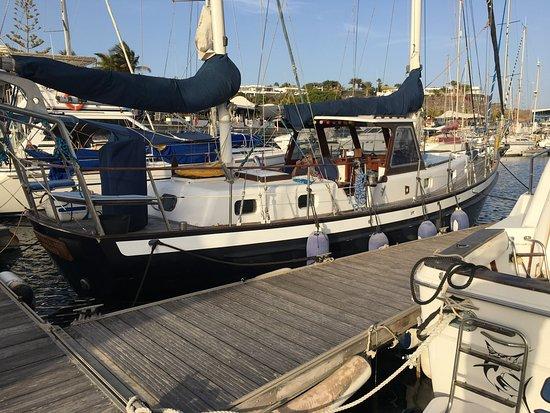 Puerto Calero, España: Vientos del Sur