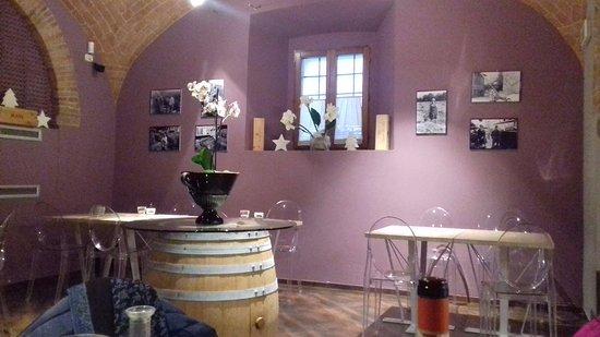 Monticchiello, Italia: Sala da pranzo