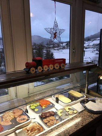 Heide Hotel Hildfeld: Deel vh ontbijt buffet