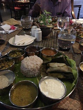 Saltiest Kerala platter