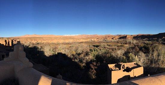 El Kelaa, Marruecos: vue de la terrasse