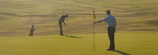 Budleigh Salterton, UK: Members enjoying the course