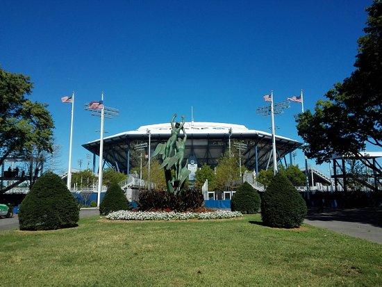 Unisphere: Pista de tennis donde se juega el Open USA.