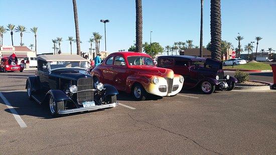 US Car Show Picture Of The Pavilions At Talking Stick Scottsdale - Pavilions car show