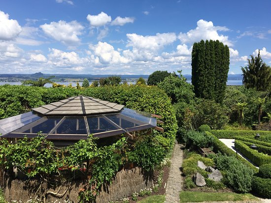 Lake Taupo Lodge: View from oursuite