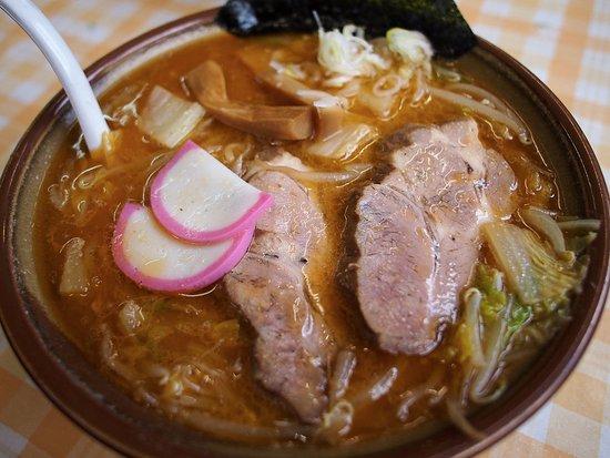 Hidaka-cho, Japón: こく味噌ラーメン(大盛り)