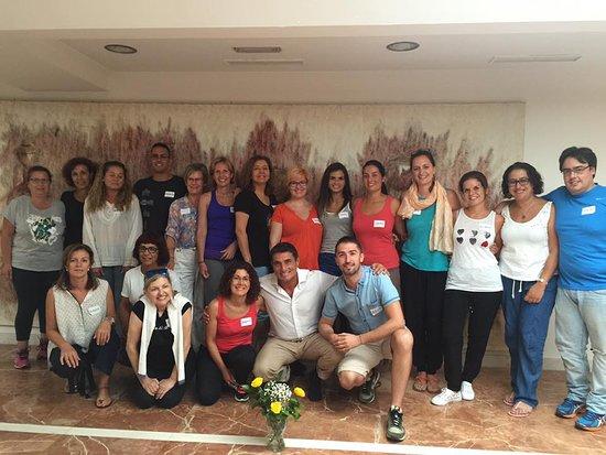 Hotel Exe Las Canteras : Tras un seminario intensivo de Mindfulness y Compasión.