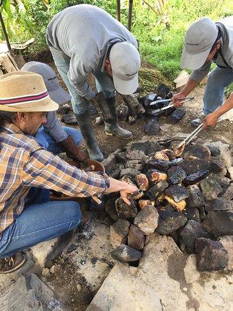 El Albergue Ollantaytambo: Le Pachamanca la chambre et la réception