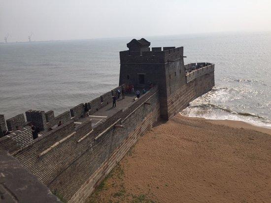 Qinhuangdao, Cina: Great wall