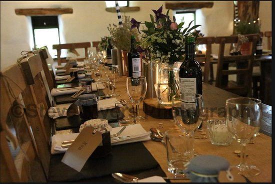 Appletreewick, UK: Table decor