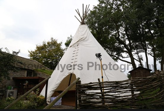 Appletreewick, UK: Tipi