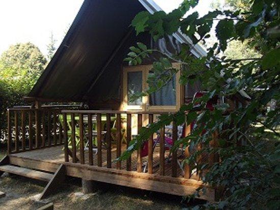 Villars-les-Dombes, Francia: Tente Lodge