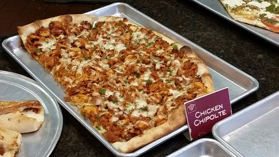 Clarks Summit, Pennsylvanie : Chicken Chipolte Pizza