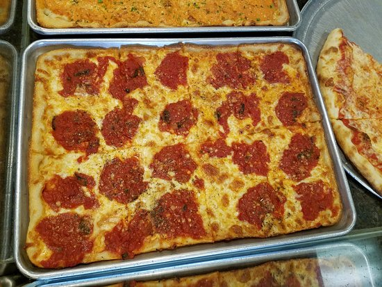 Clarks Summit, Pennsylvanie : Grandma Pizza