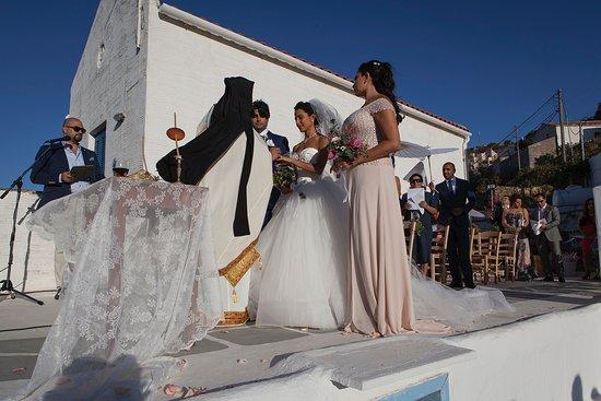 Kea, Grèce : Wedding ceremony