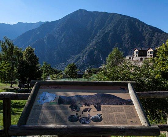 Andorre-la-Vieille, Andorre : Mirador de la Comella