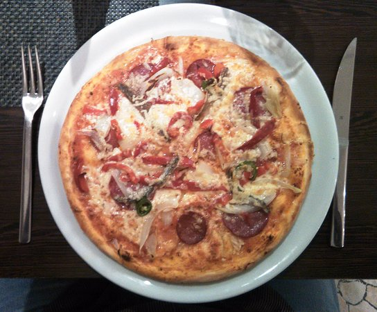 Braunfels, เยอรมนี: Die gute Pizza Siavolo