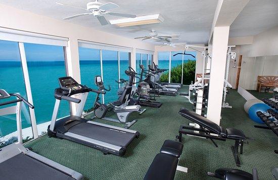 Pompano Beach Club: oceanfront fitness center