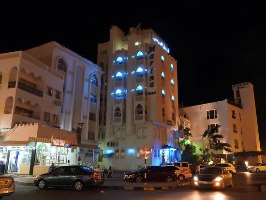Muttrah, Omán: Terrasse tout en haut!