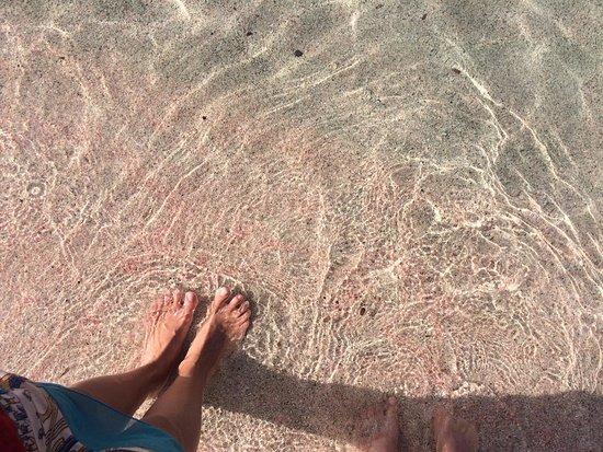 Trachilos, Grecia: розовый песок
