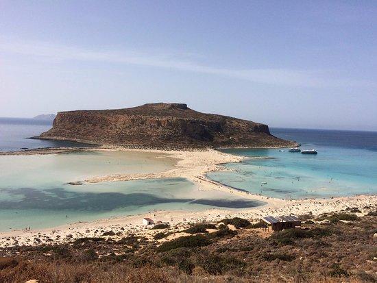 Trachilos, Grecia: вид на залив баллос