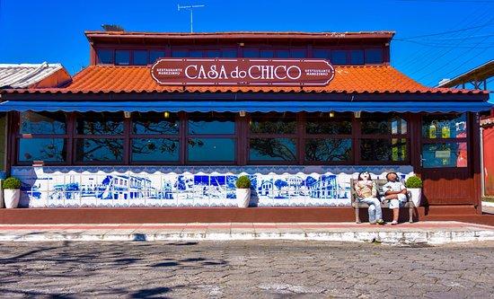 Casa do Chico: Nossa famosa fachada de frente para a Lagoa da Conceição.