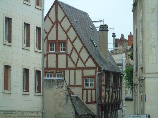 Bourges, Francia: maisons médiévales