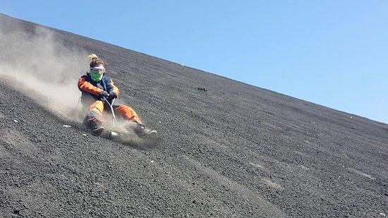 San Jose Metro, Costa Rica: sliding down a volcano