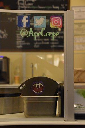 Tinton Falls, NJ: Follow us @ApeCrepe