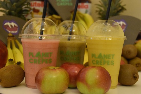 Tinton Falls, Nueva Jersey: 100% All natural smoothies; No sugar or dairy added
