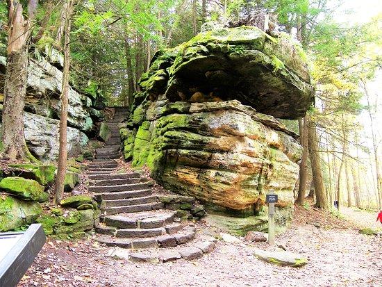 "Brecksville, OH: The "" Ledges Trail"""