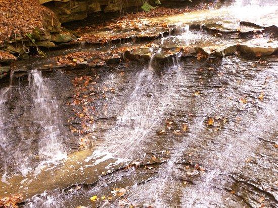 Brecksville, OH: Bridal Veil falls