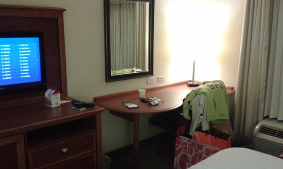 Hampton Inn Harriman Woodbury: Zona escritorio