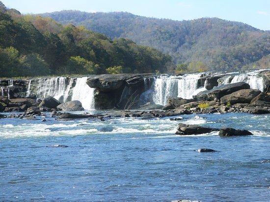 New River Gorge: Sandstone Falls