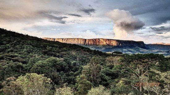 Serra da Canastra National Park: Fotos de paisagens do mirante próximo a pousada