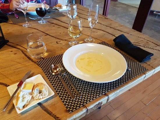 Crush On Niagara Wine Tours: Cauliflower soup