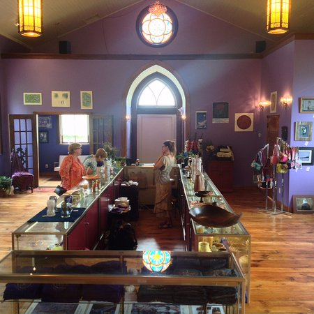 Port Austin, MI: Inside the White Church Gallery